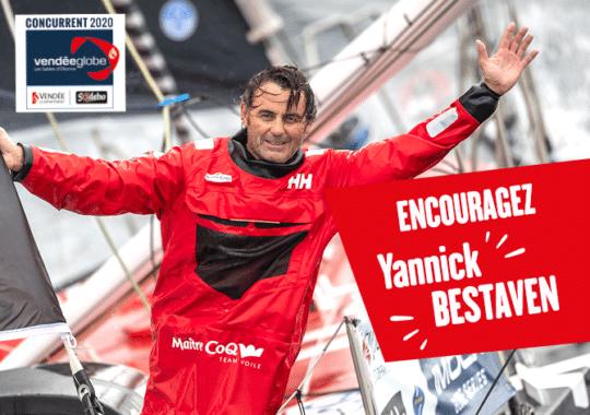 Encouragez Yannick Bestaven pendant le Vendée Globe