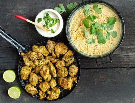 Maître CoQ partage avec vous cette délicieuse recette de dahl de lentilles au poulet. Voyagez jusqu'en Inde avec ce plat plein de saveurs.